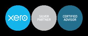 xero silver partner + cert-advisor badges